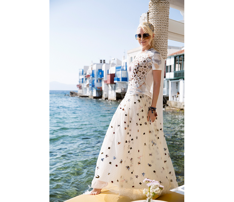 #postatravelnotes Лето. Миконос. Dior Riviera. Яна Рудковская