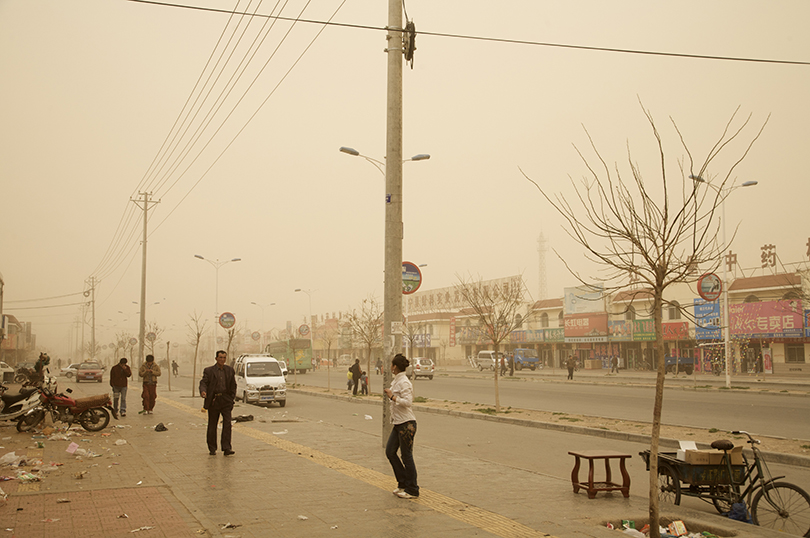 Benoit Aquin, Hongsibao n° 2, from the Series The Chinese Dust Bowl, 2007 © Prix Pictet Water