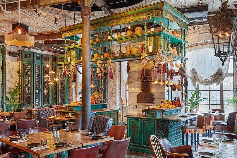 Где отмечать Новый год: праздничная программа в7лучших ресторанах Москвы. «Казбек»