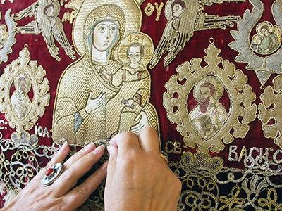 «Эрмитажная коллекция текстиля. История иреставрация»