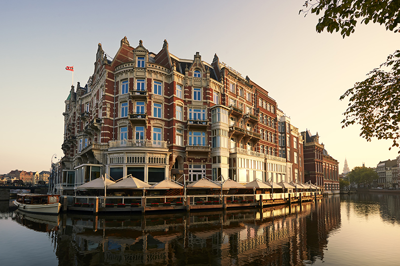 Кто рано встает: выбираем завтрак в отелях The Leading Hotels of the World. DeL'Europe Amsterdam, Амстердам
