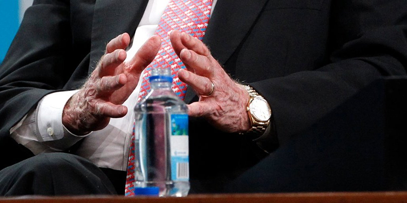 Самые богатые мужчины и их часы. Уоррен Баффетт и Rolex Day-Date