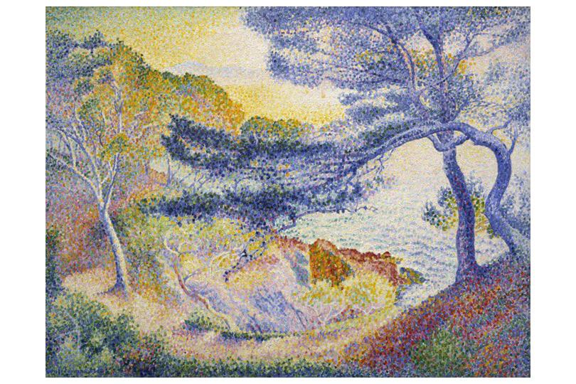 «Анри-Эдмон Кросс, живописец счастья» Музей импрессионизма, Живерни, Франция  До4ноября