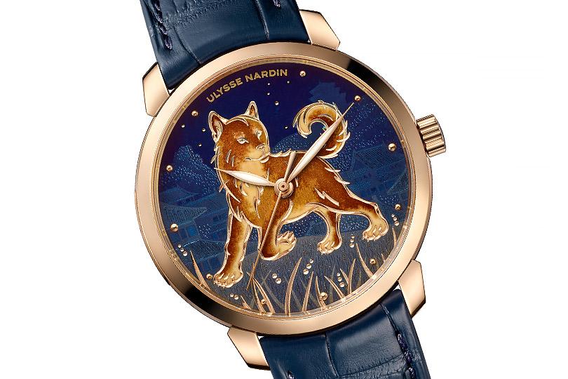 Как часовые компании рекомендуют встретить восточный новый год: Ulysse Nardin Classico Dog