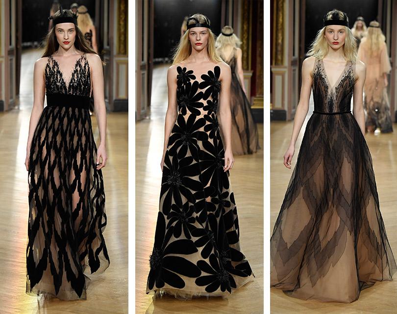 Показ Yanina Couture врамках Недели высокой моды вПариже