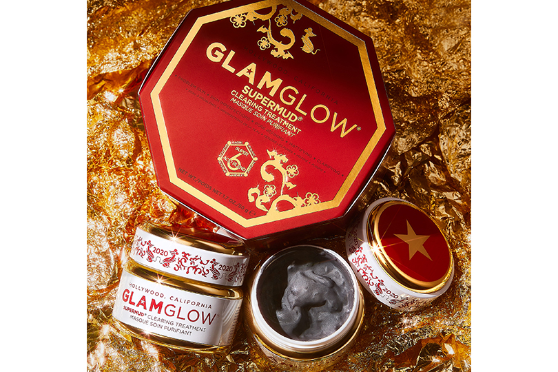 Lunar New Year Supermud Clearing Treatment, GlamGlow