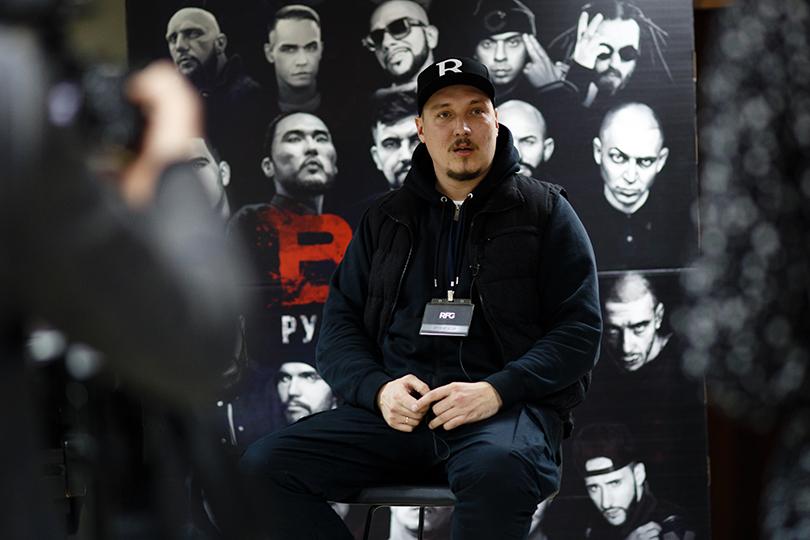 Премьера фильма «BEEF: Русский хип-хоп» в кинотеатре «Октябрь». Жиган