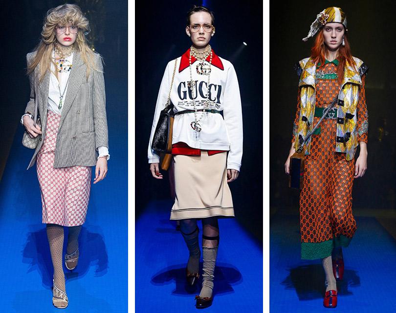 Как это носить: возвращение логомании. Gucci