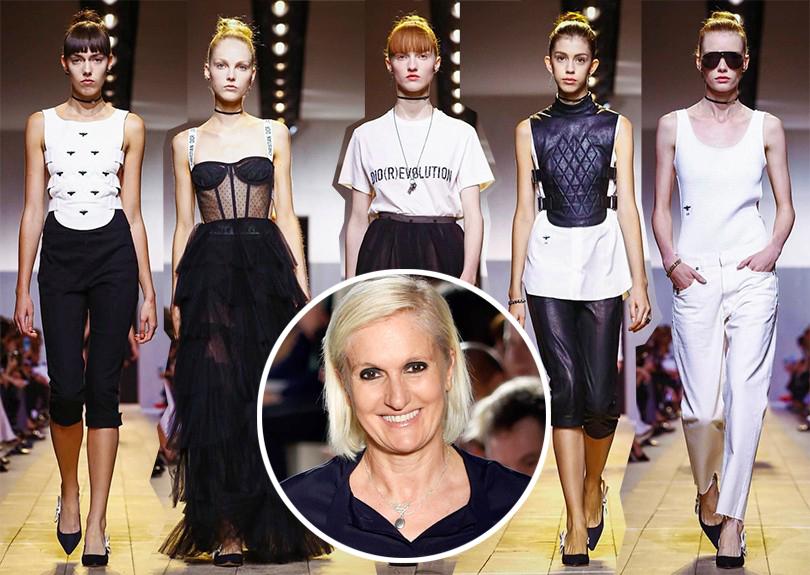 Главные события вмире моды за2016 год. Мария Грация Кьюри: Dior, весна-лето 2017