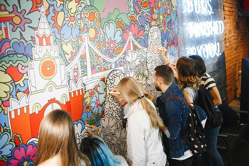 Макс Гошко-Даньков привезет стены-раскраски вТокио