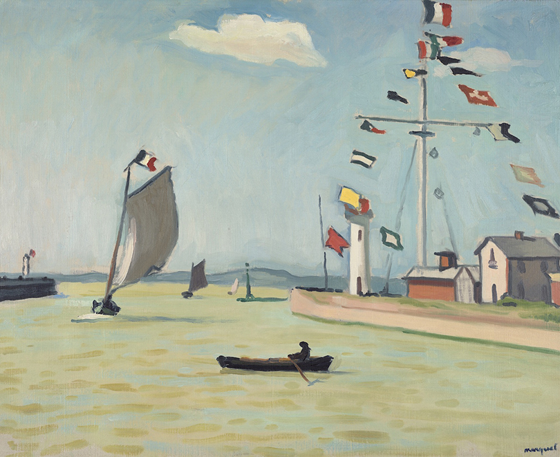 Альбер Марке. «Порт вОнфлере», 1911г.