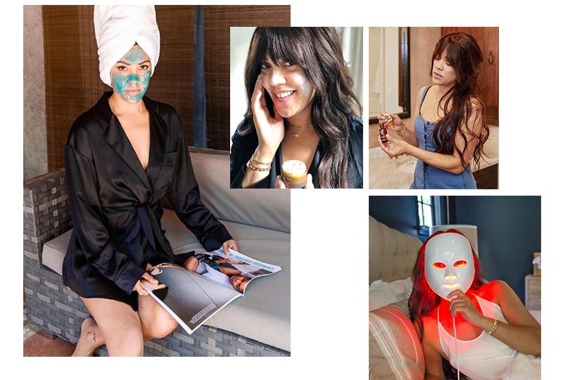 Фирменный уход Шани Дарден чаще всего будет строиться вокруг мягкого химического пилинга, персонализированной маски, микротоков, кислородной исветодиодной терапии