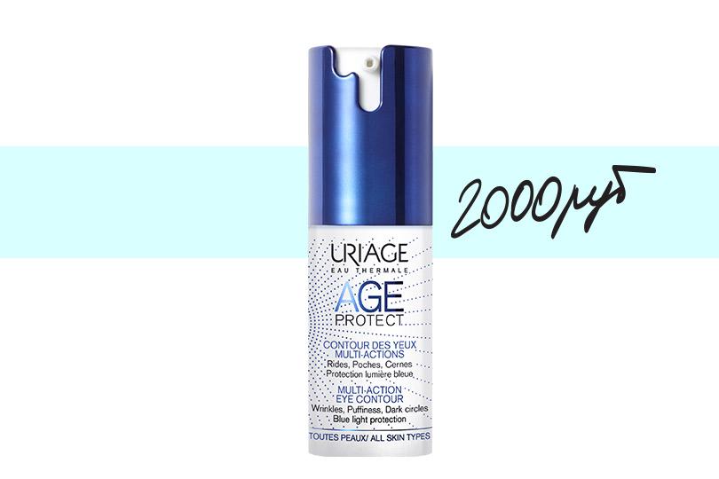 Многофункциональный крем для кожи контура глаз Age Protect отUriage