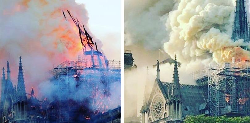 Все еще горит: последние новости о пожаре в Соборе Парижской Богоматери
