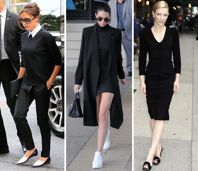 Часы & Караты: 7 лучших черно-белых моделей на любой случай жизни. Виктория Бекхэм. Кендалл Дженнер. Кейт Бланшетт