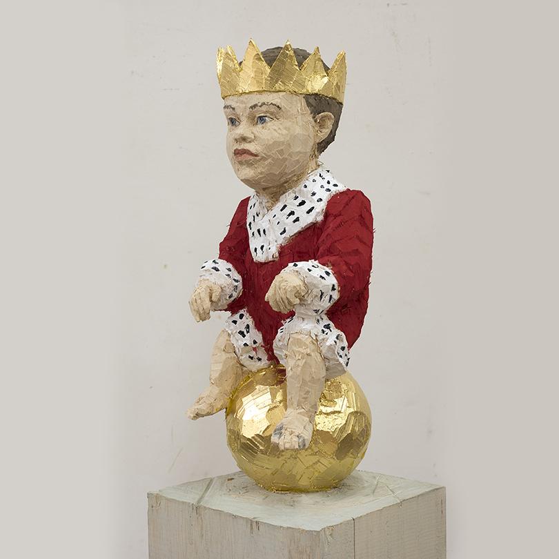 Art Weekend в Москве: деревянные люди Балкенхола. «Король-младенец»