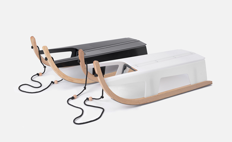 Идея подарка: надувные санки, эспрессо-самовар идругие практичные находки для путешественников. Надувные санки Maarno (Max Frommeld &Arno Mathies)