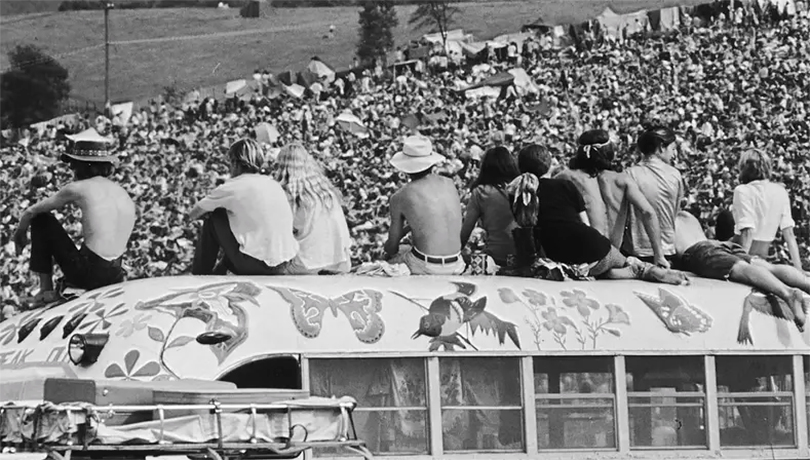 Лето любви возвращается! Легендарный фестиваль «Вудсток» отметит 50-летие на прежнем месте