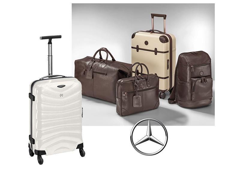 Самые красивые чемоданы и другой багаж из lifestyle-коллекции: Mercedes-Benz