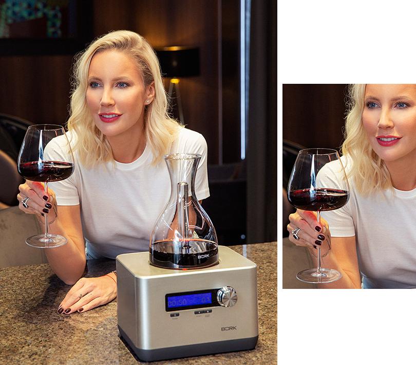 Кислородный декантер BORK Z600 ибокалы для вина BORK HW501