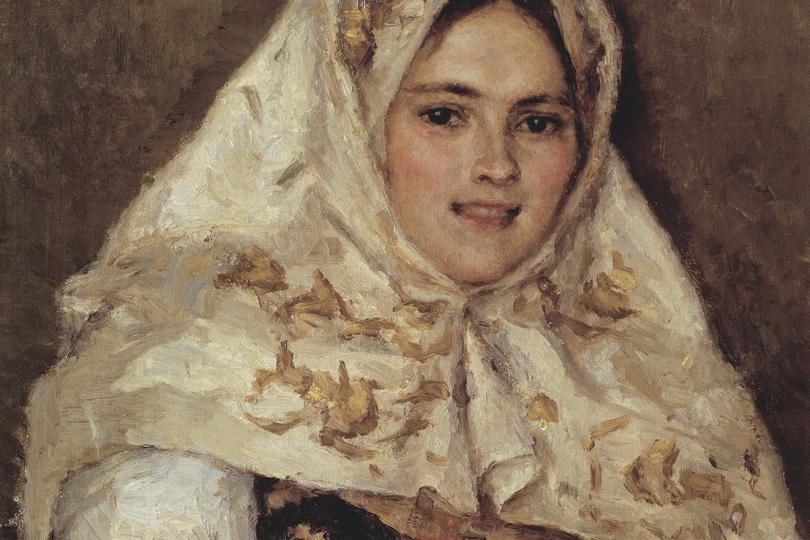 Василий Суриков. Сибирская красавица.1891