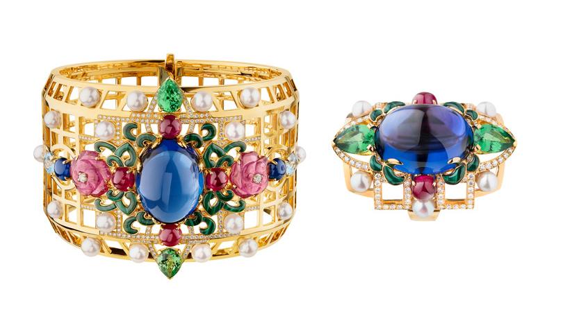Первая «высокая» ювелирная коллекция Chanel, созданная для России. Браслет икольцо Sergueï