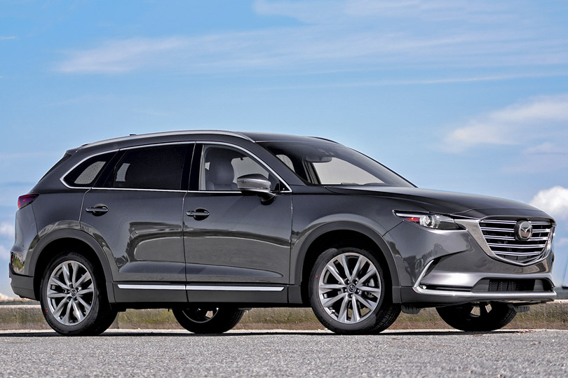 Cars with Jan Coomans. Mazda CX-9 review: a 3-row crossover SUV with hidden talents