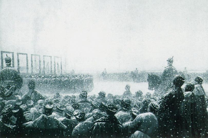 Казнь заговорщиков в России. 1884-1885