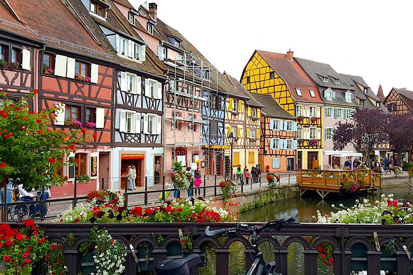 Планы налето: живописные города Европы, которые можно обойти пешком. Кольмар, Франция