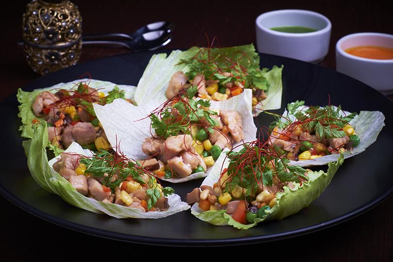 Что на ужин? Осень в паназиатском стиле в Asia Grill. Курица-вок