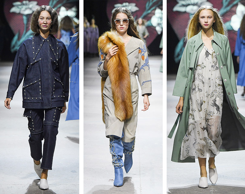 Mercedes-Benz Fashion Week Russia: средневековые мотивы, легенда оГодиве иновая романтика отAlena Akhmadullina