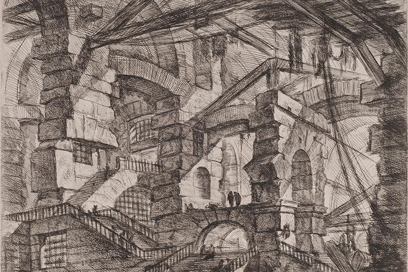 Джованни Баттиста Пиранези. Изсерии «Темницы»