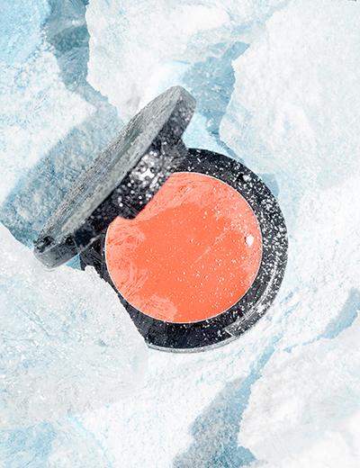 Кремовые румяна сосветоотражающими частичками Sexy Cream Blush (Shiny Peach), Romanovamakeup