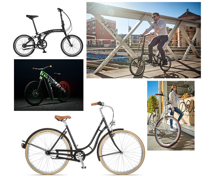 Велосипеды, самокаты и другие безмоторные средства передвижения от Škoda