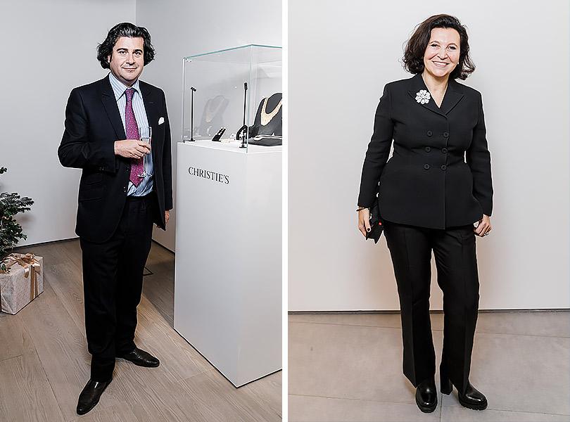 Закрытый показ ювелирных украшений Christie's: Анри де Монспей. Марина Добровинская