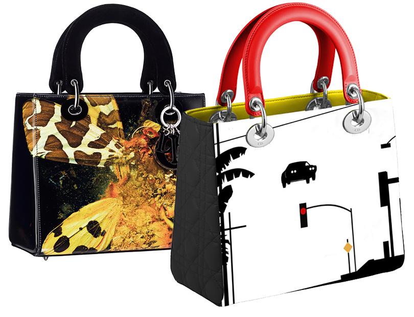 Shoes &Bags Blog: #DiorLadyArt— коллаборация модного Дома ссовременными художниками. Мэт Коллишоу, Мэттью Портер