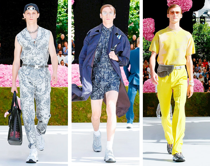 Первый показ Кима Джонса для Dior Homme