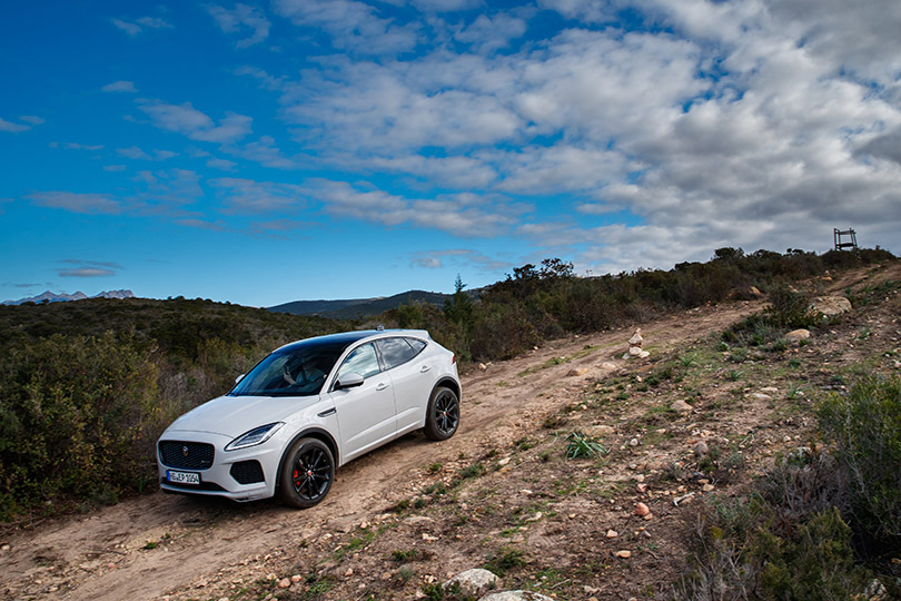 Cars with Jan Coomans. Jaguar E-Pace review: the all new compact SUV driven onlegendary roads