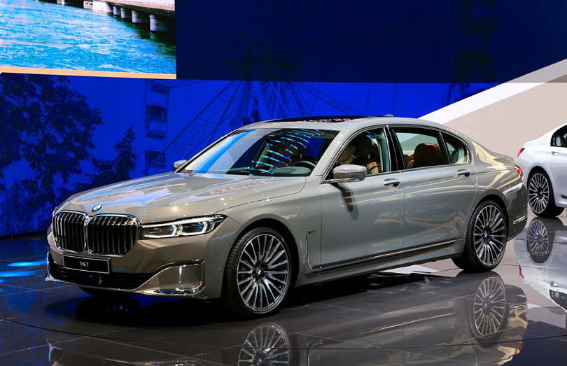 Cars with Jan Coomans. Geneva International Motor Show 2019. BMW 7