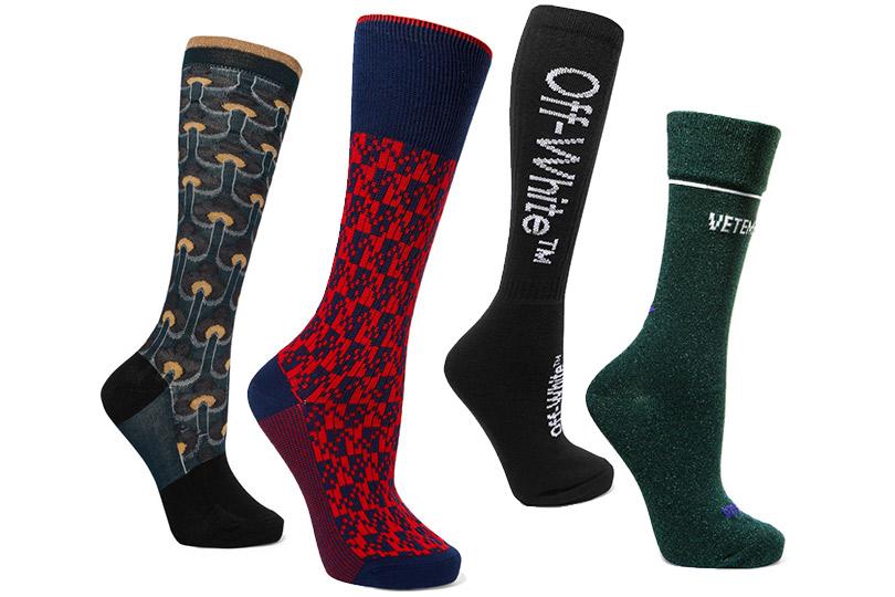 Новогодние подарки для миллениалов. Дизайнерские носки Off-White, Marni, Prada, Vetements