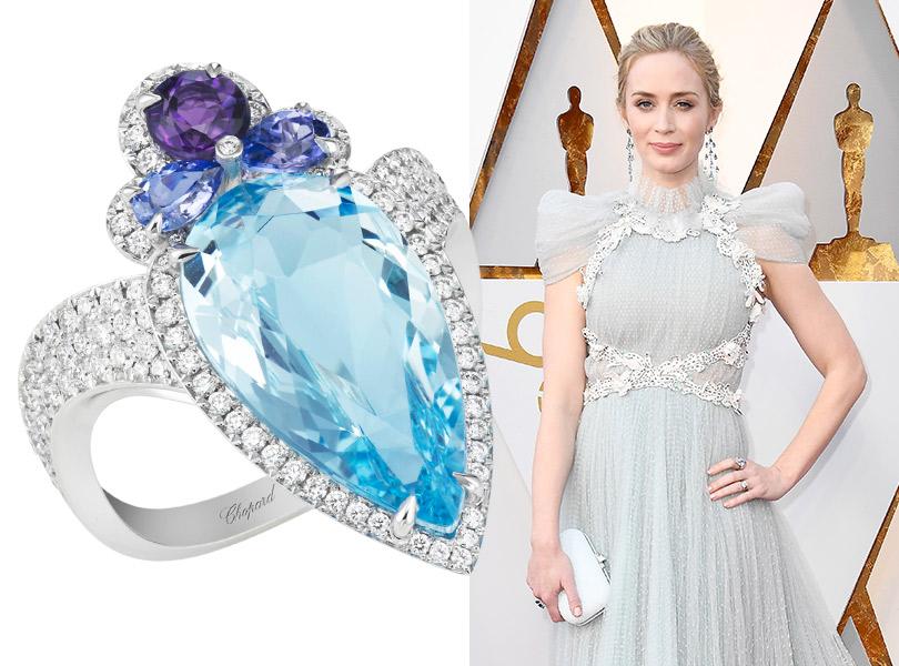 Часы &Караты: роскошные украшения церемонии «Оскар». Эмили Блант