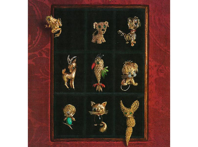 Van Cleef &Arpels, коллекция LaBoutique 1950–1960-х годов