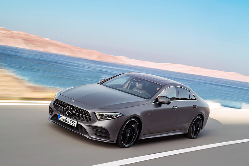 Cars with Jan Coomans. What's new atthe Los Angeles Motor Show. Mercedes-Benz CLS