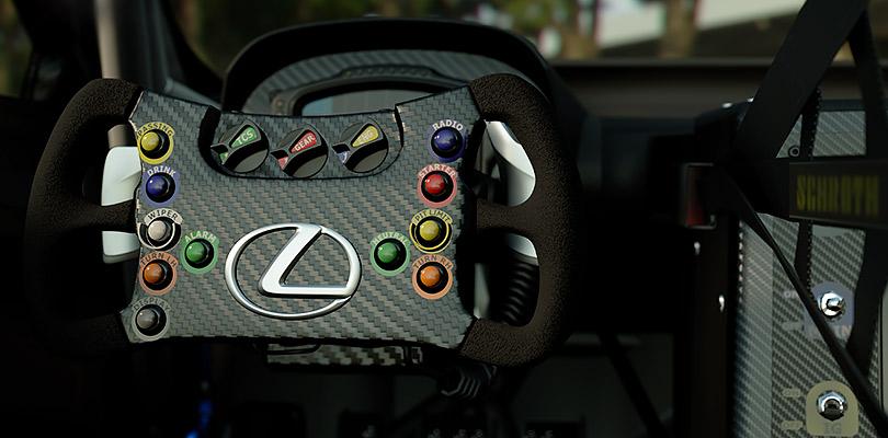 Гоночный автомобиль Lexus RCFGT3 стал участником игры Gran Turismo наPlayStation