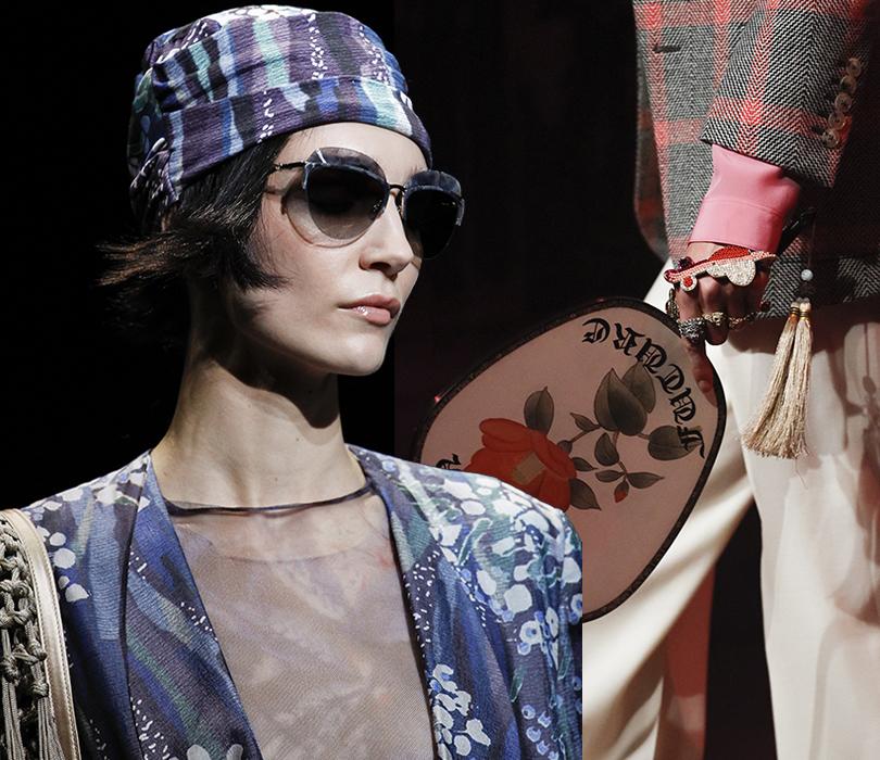 Style Notes: итоги и лучшие моменты Недели моды в Милане. Giorgio Armani. Gucci