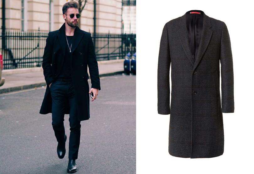 Men inStyle: как носить самые актуальные пальто весеннего сезона. Пальто PSbyPaul Smith