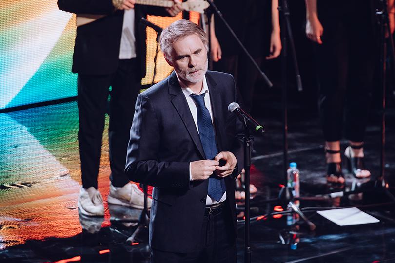 Церемония открытия 41-го Международного московского кинофестиваля. Жан-Франсуа Рише
