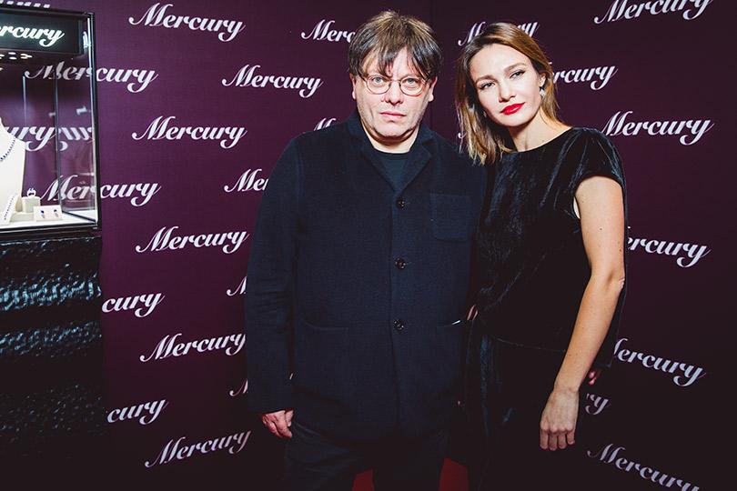 Вручение премии «Золотой орел»— 2018. Валерий Тодоровский и Евгения Брик