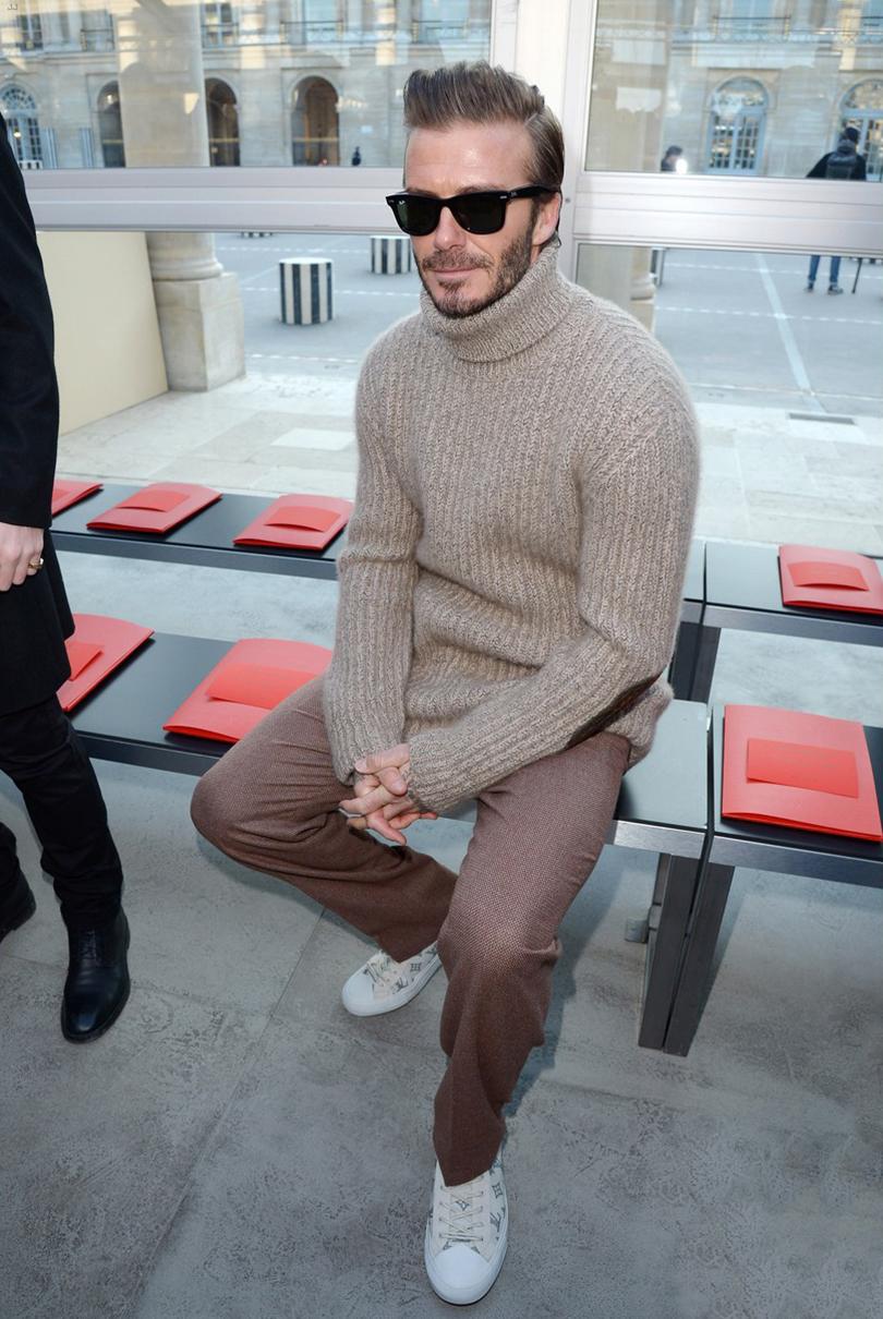 Men in Style:хроники парижского стиля. Дэвид Бекхэм