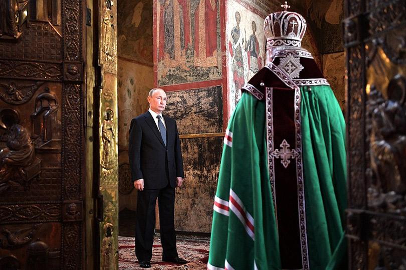 Новость дня: в Кремлевском дворце состоялась инаугурация Владимира Путина